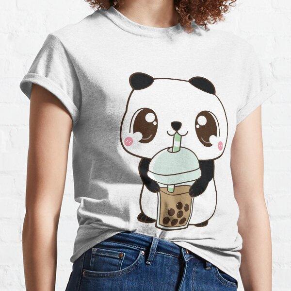 Boba Panda's Gift Men Women Classic T-Shirt