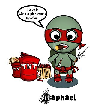 TMNT RAPH by BRANDYCANDY