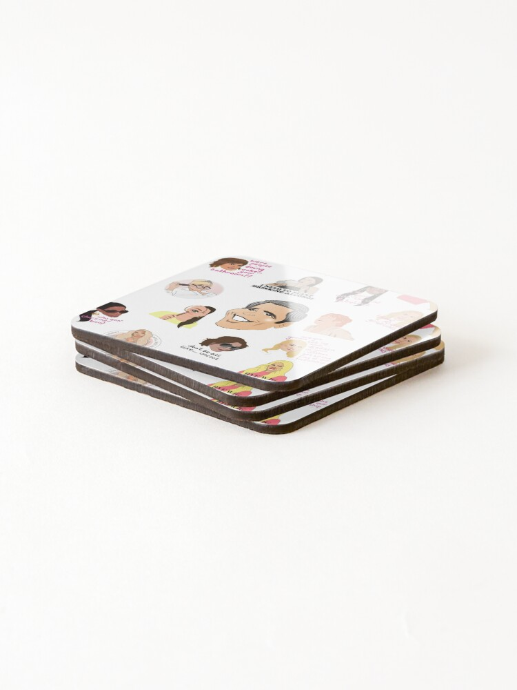 Alternate view of The Real Housewives Coasters (Set of 4)