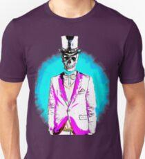 Linear skull Unisex T-Shirt