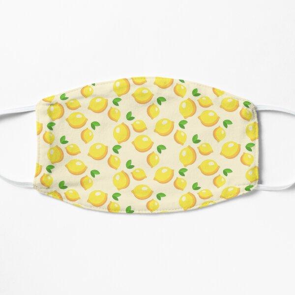 Zitronenmasken Flache Maske