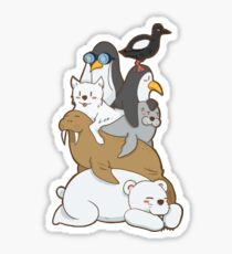 ARCTIC ANIMAL Sticker