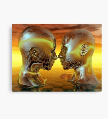 Passion In Gold Canvas Print
