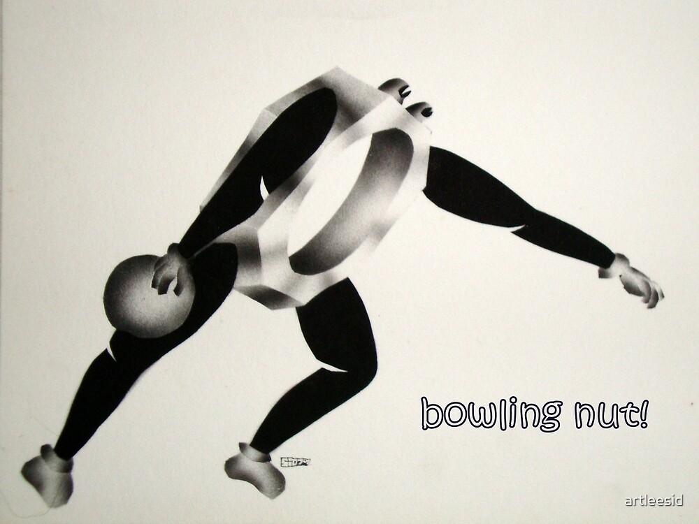 Bowling nut! by artleesid