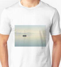 Sailing in tranquility, Passignano sul Trasimeno, Umbria, Italy Unisex T-Shirt