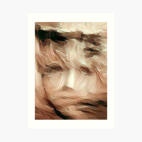 Mysterious Princess of Mars Art Print