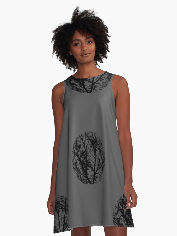 nature made a space ...  A-Line Dress Front