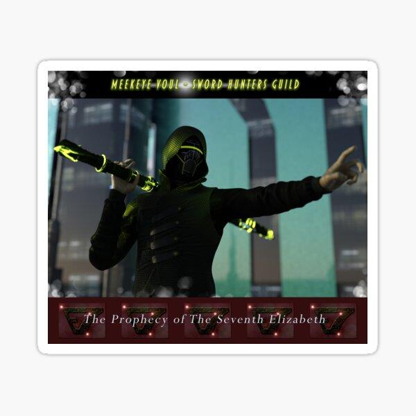 Voul - Sword Hunters Guild Sticker