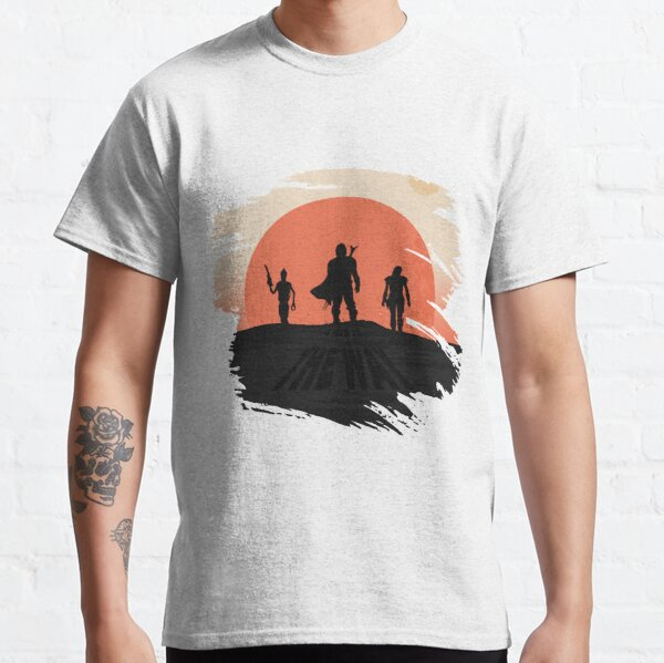 Graphic Vintage Din Djarin (Aka Mando) Cara Dun This Is The Way Men Women Classic T-Shirt