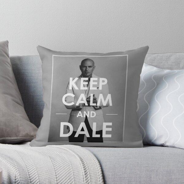 Mr Worldwide keep calm Throw Pillow