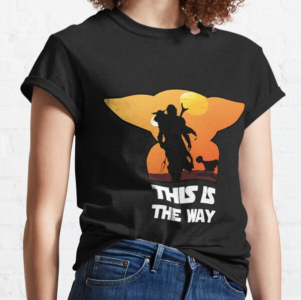Graphic Vintage The This Is Way Gift Men Women Classic T-Shirt