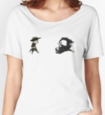 The man in black fled across the desert... Women's Relaxed Fit T-Shirt