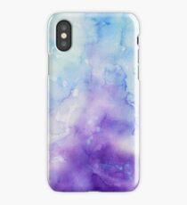 Purple Watercolour Pattern iPhone Case/Skin