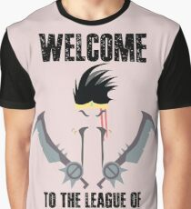 Welcome to the league of Draven Graphic T-Shirt