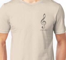 Melody Clef Unisex T-Shirt