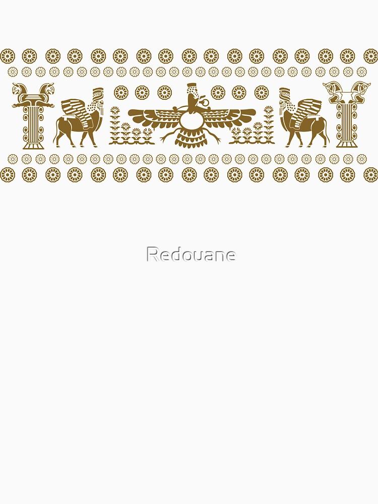 Apadana Persepolis persa de Redouane