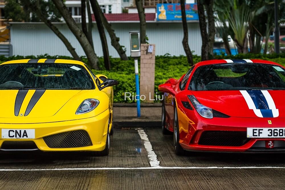 Ferrari 430 Scuderia & 458 Speciale  by Rico Liu