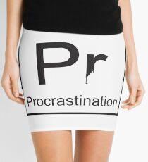 The Element of Procrastination Mini Skirt
