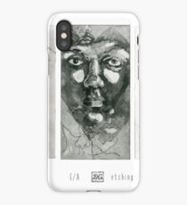 Experiment with faces #1-2 iPhone Case/Skin