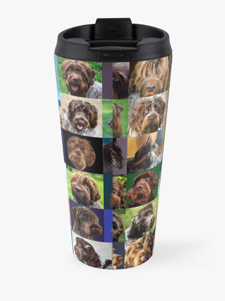 Alternate view of GRIFF PUZZLE PORTER AND JAMIE Travel Mug