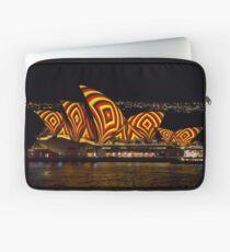 Square Sails - Sydney Opera House - Vivid Sydney Laptop Sleeve