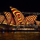 «Square Sails - Sydney Opera House - Vivid Sydney» de Bryan Freeman