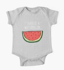 I carried a watermelon One Piece - Short Sleeve