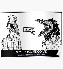 STACK Beetlejuice Logo Poster
