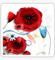 Beautiful wedding flowers Sticker