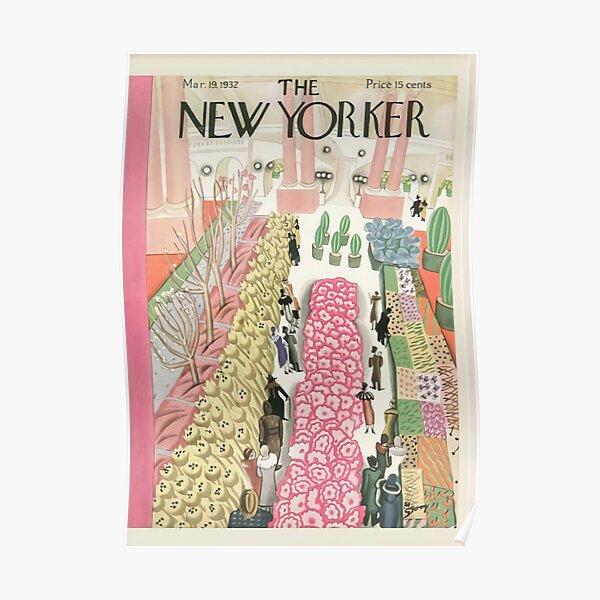 New Yorker Magazine Poster