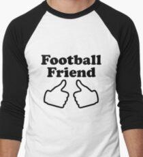 Football Friend Baseballshirt mit 3/4-Arm