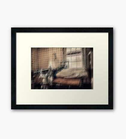Relax, Mrs Jones, there's no need to panic. Women give birth in this manner every day. Framed Print