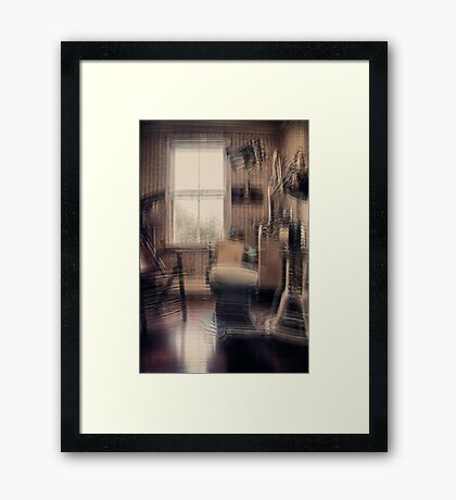 Take a seat Mr Jones, the dentist will be with you in a moment... Framed Print