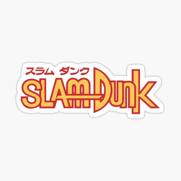 Slam Dunk Logo RY Sticker