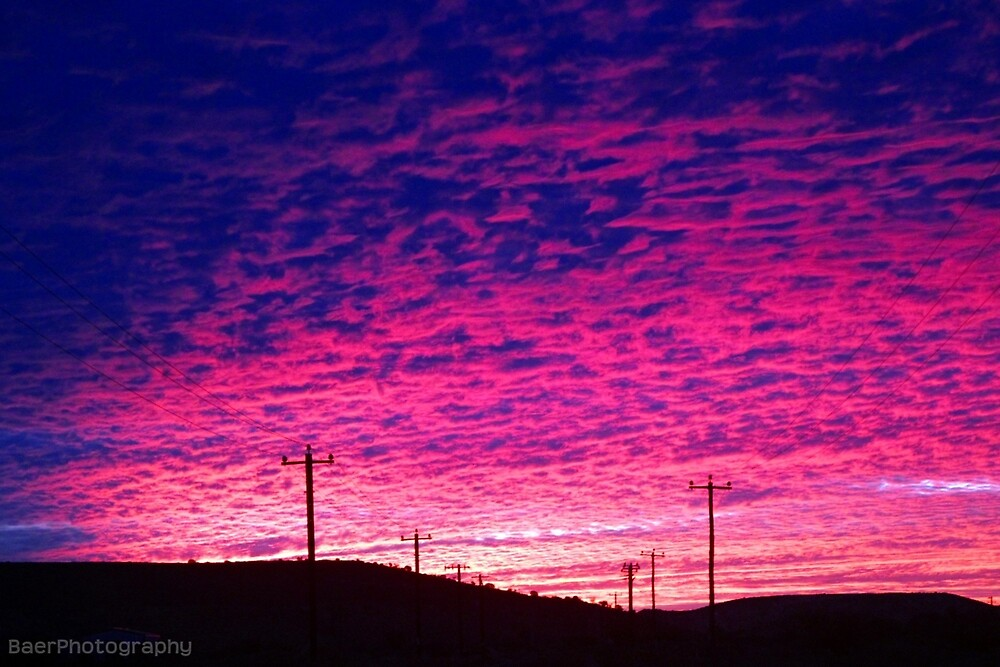 Mt Magnet sunset by BaerPhotography