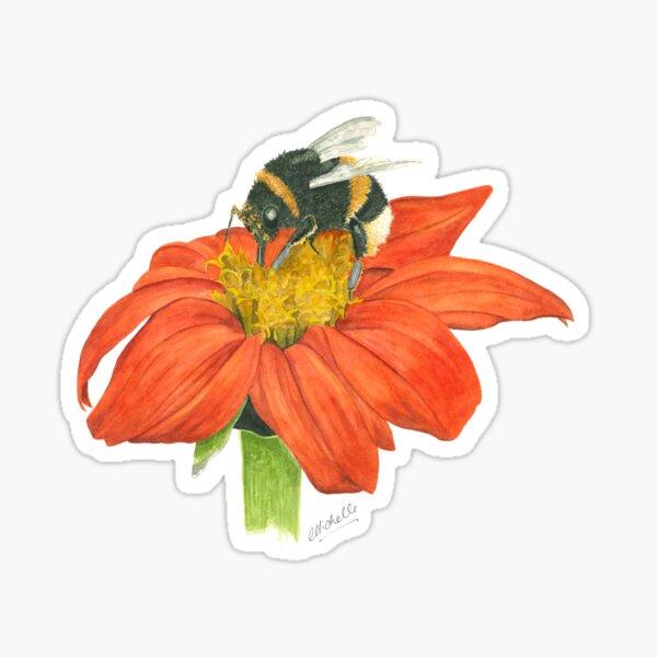 Monet's Bumblebee Sticker
