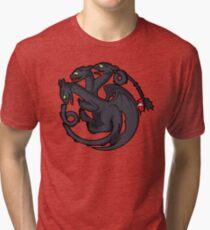 Toothless Targaryen Tri-blend T-Shirt