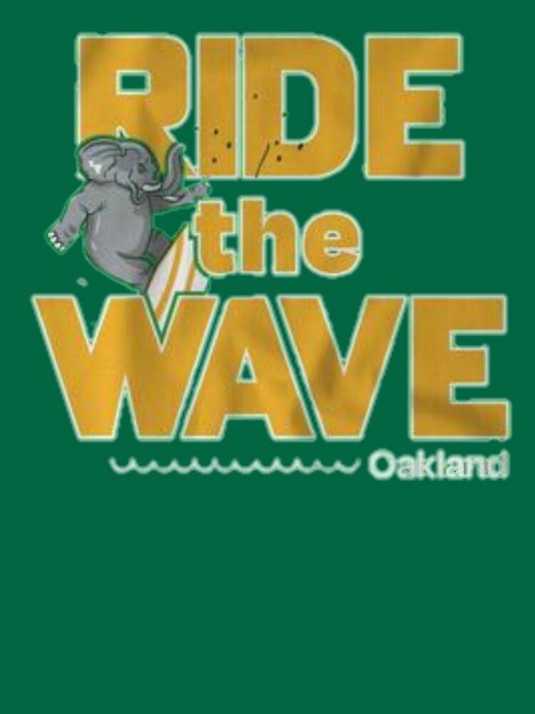 Ride the wave Oakland  by Jim-Kim