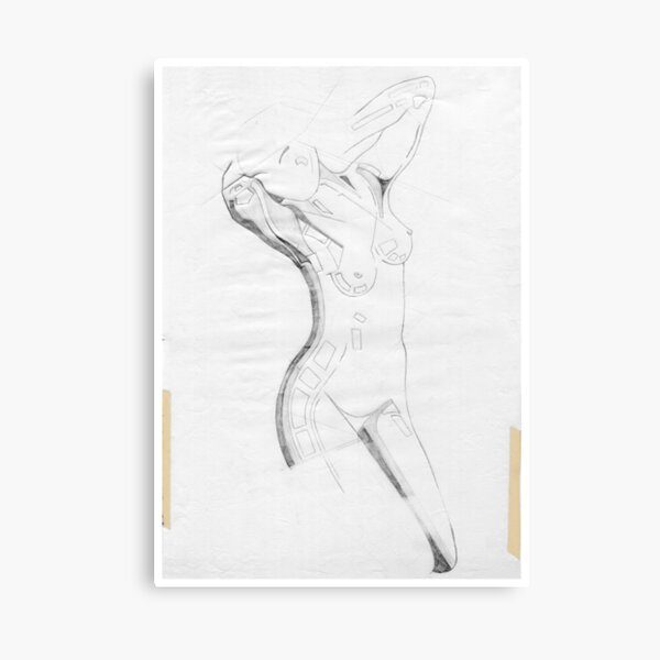 Perfume of Venus ( Homage Rodin ) Canvas Print