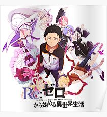Re:ZERO Starting Life In Another World Poster