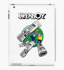 PAPERBOY RETRO ARCADE GAME iPad Case/Skin