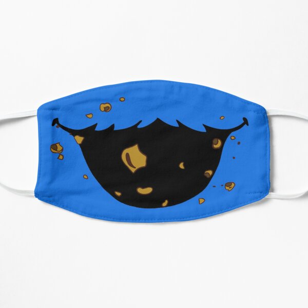 Blue Monster Flat Mask