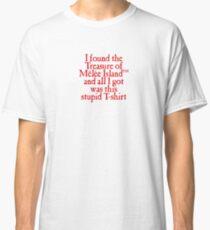 Monkey Island - Lost Treasure of Melee Island Classic T-Shirt