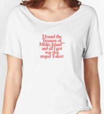 Monkey Island - Lost Treasure of Melee Island Women's Relaxed Fit T-Shirt
