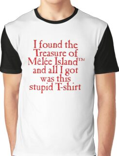 Monkey Island - Lost Treasure of Melee Island Graphic T-Shirt