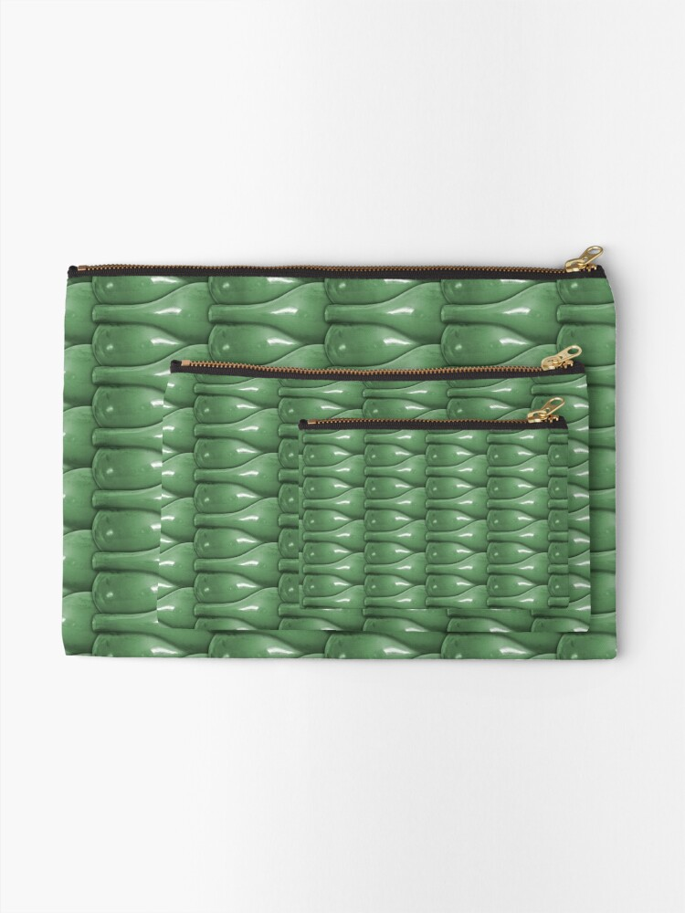Alternate view of Glass In The Window Zipper Pouch