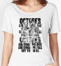 u2 October Women's Relaxed Fit T-Shirt