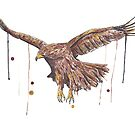 Golden Eagle by Calum Margetts Illustration