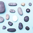 Paired pebbles... by Catherine MacBride
