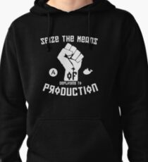 Seize the Means of Deploying to Production Pullover Hoodie